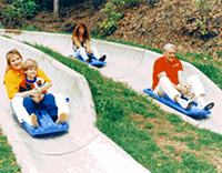 Alpine Slide at Ober Gatlinburg