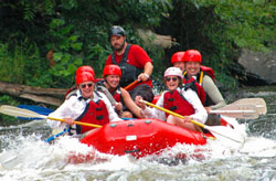 Go Rafting with the Nantahala Outdoors Center!